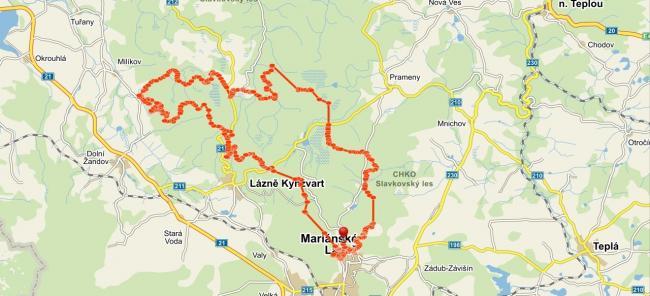 Pro Sport Cz Trasa Mapy